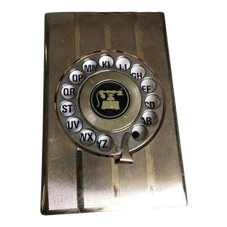 Mid-Century Phone Index Box