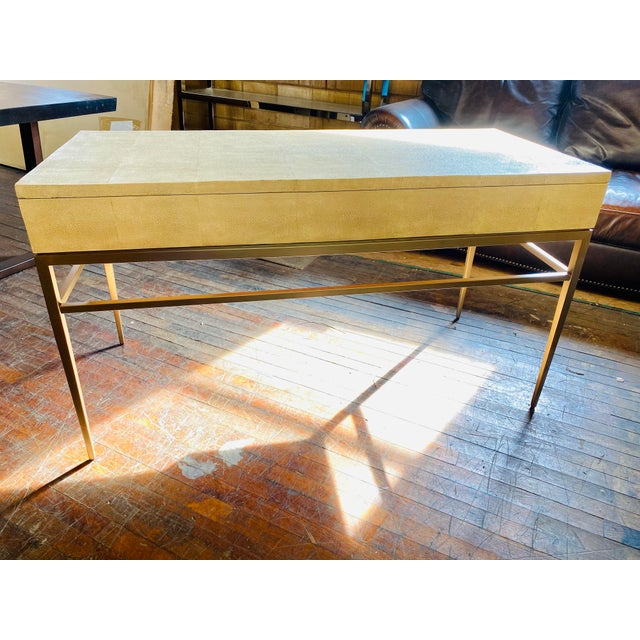 2010s Mitchell Gold + Bob Williams Solange Writing Desk For Sale - Image 5 of 9