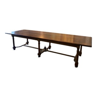 Antique French Oak Dining Table For Sale