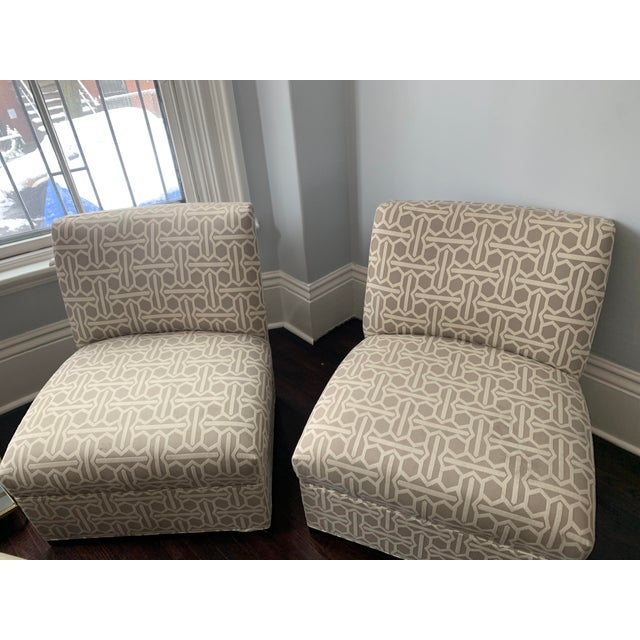 2010s Modern Mitchell Gold Archer Chairs - A Pair For Sale - Image 5 of 12