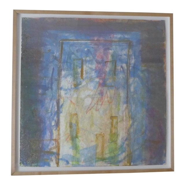 1998 Christopher Le Brun Untitled Abstract Monotype - Image 1 of 7