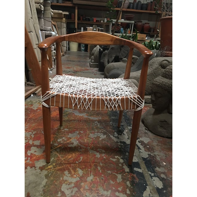 Teak Me Home Reclaimed Teak Wood Ludloe Arm Chair - Image 2 of 4