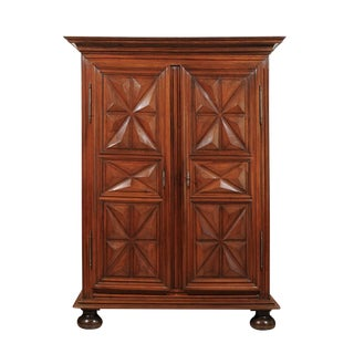 18th Century Louis XIII Walnut Armoire