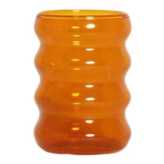 Ripple Cup in Amber For Sale