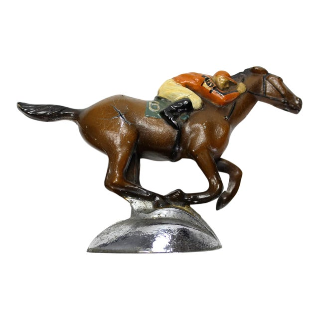 Roycroft Stables Jockey Car Mascot For Sale