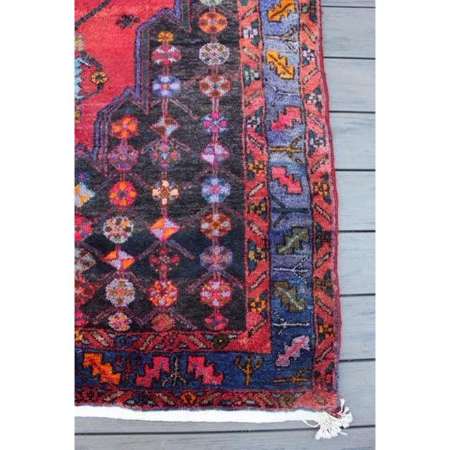 "Vintage Persian Zanjan Rug - 5'4"" x 8'10"" - Image 8 of 9"