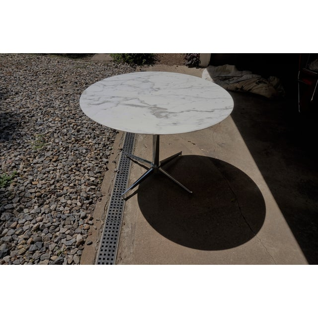 Florence Knoll Marble Table - Image 7 of 8