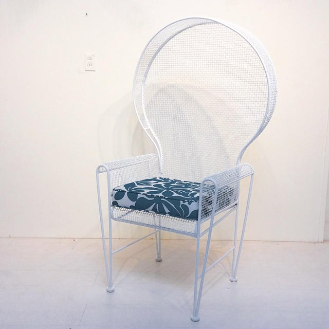 Mid-Century Modern 1960s Mid-Century Modern Russell Woodard Patio Chair For Sale - Image 3 of 4