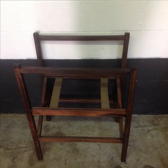 1950's Walnut and Acrylic Folding Bar For Sale - Image 7 of 10