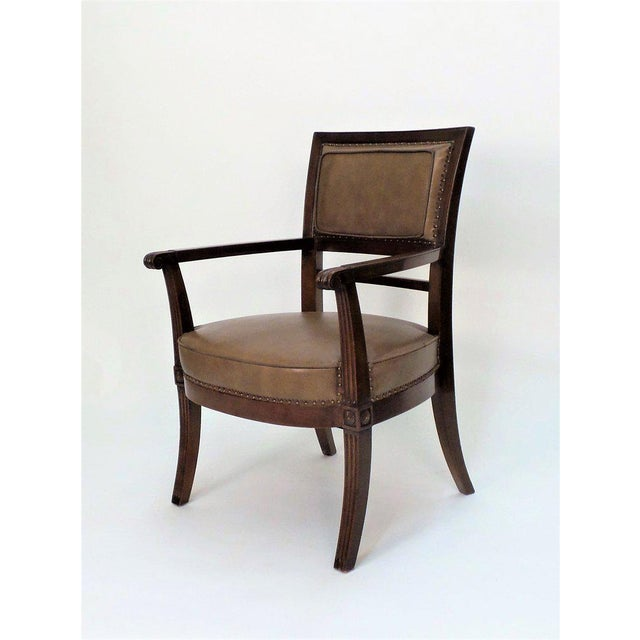 Not Yet Made - Made To Order Empire Armchair For Sale - Image 5 of 11