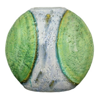 Mid Century Modern Marcello Fantoni Raymor Large Ceramic Vessel Italian 1960s For Sale