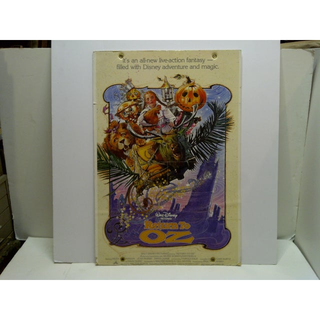 """Walt Disney's Return to Oz"" Mounted Original Movie Poster For Sale In Pittsburgh - Image 6 of 6"