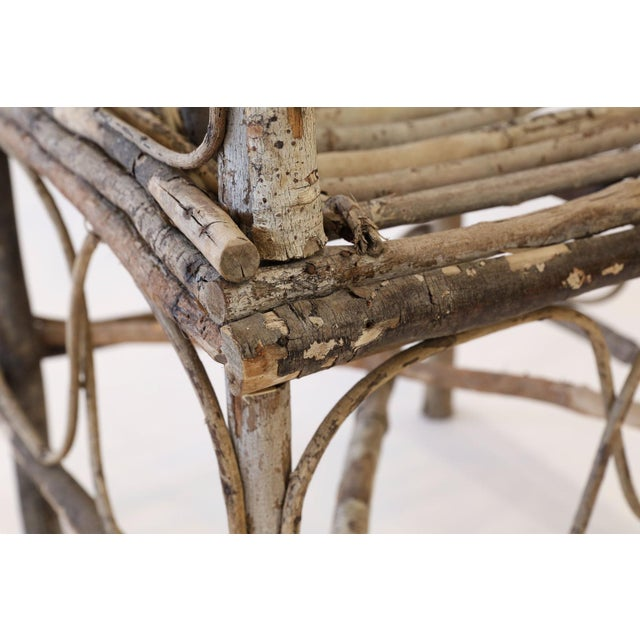 Antique French Twig Chair For Sale - Image 10 of 13