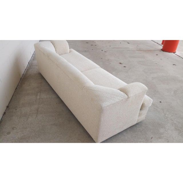 1980s Vintage Contemporary Directional Sofa For Sale - Image 5 of 13