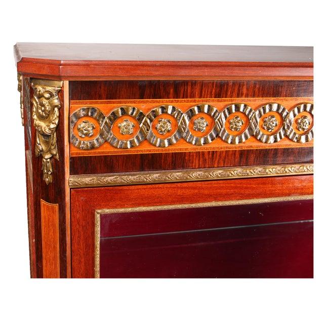 1930s Louis XVI Style Vitrine Cabinet - Image 5 of 7