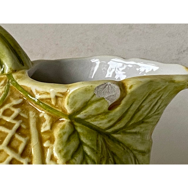 Green Vintage Italian Pitcher Set by Neiman Marcus For Sale - Image 8 of 13