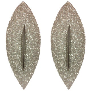 1960s French Resin Sconces - a Pair For Sale