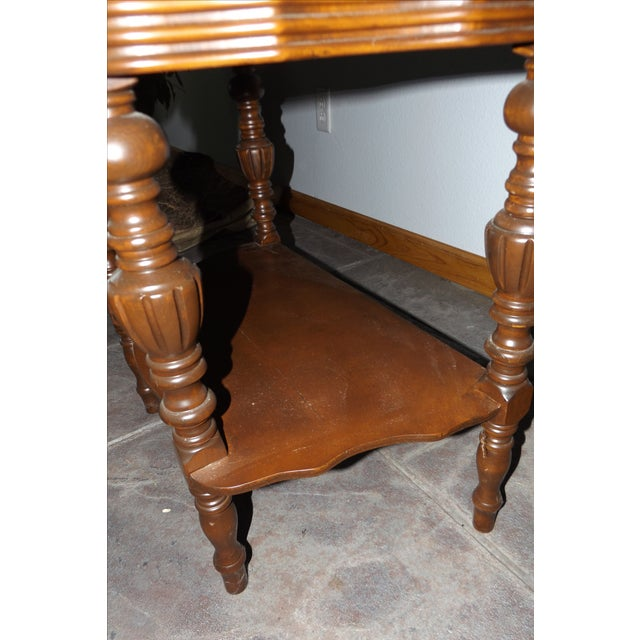 Victorian Tiered End Table - Image 4 of 6