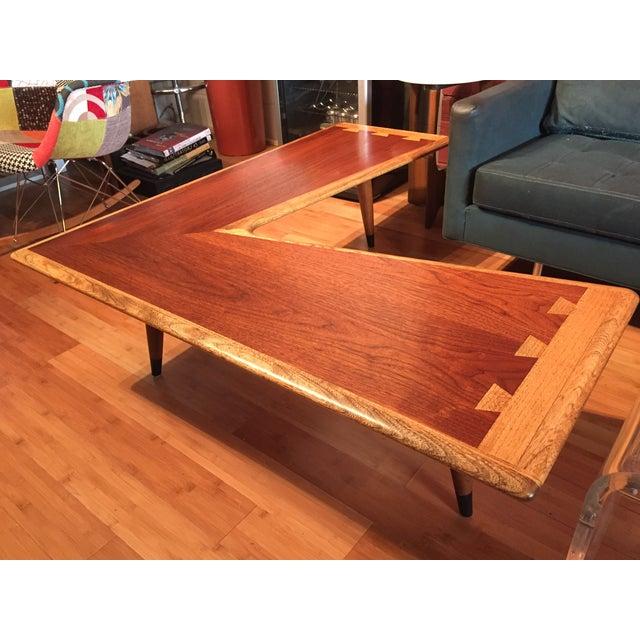 Lane Blonde Coffee Table: Lane Acclaim Boomerang Coffee Table