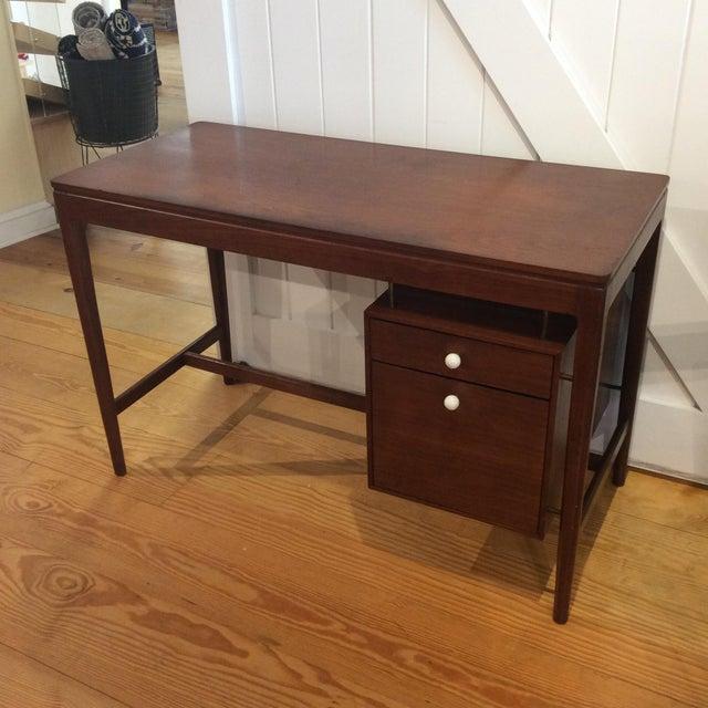 Drexel Mid-Century Walnut Desk - Image 2 of 11