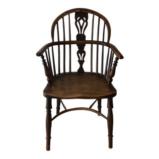 Mid 19th Century Wheatland Rockley Windsor Chair For Sale