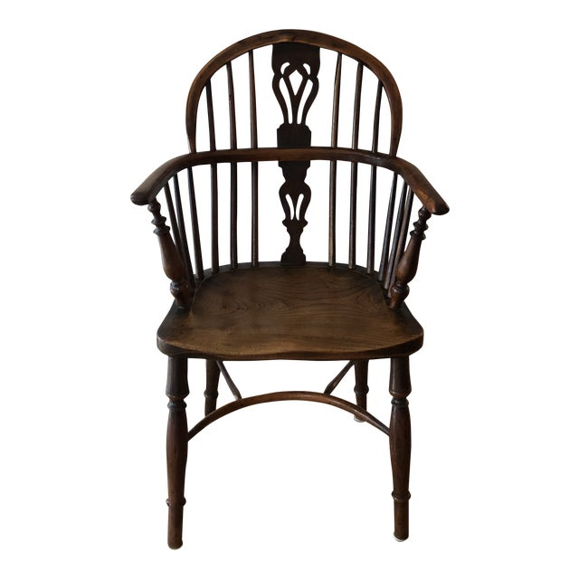 Mid 19th Century Wheatland Rockley Windsor Chair For Sale