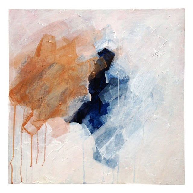 "Dani Schafer ""Closer Than Land"" 2015 Painting - Image 1 of 9"