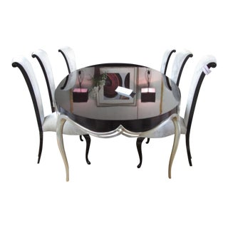 Christopher Guy Dining Table & 8 Chairs