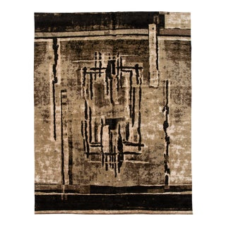 21st Century Contemporary Tibetan Abstract Rug 11 X 14 For Sale