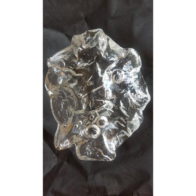 Modern Glass Decorative Bowl - Image 2 of 4