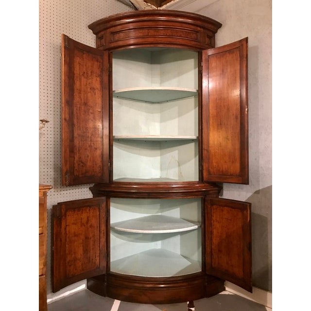 "Louis Philippe Pairs of ""encoinures"" Corner Cabinets a Pair For Sale - Image 6 of 7"