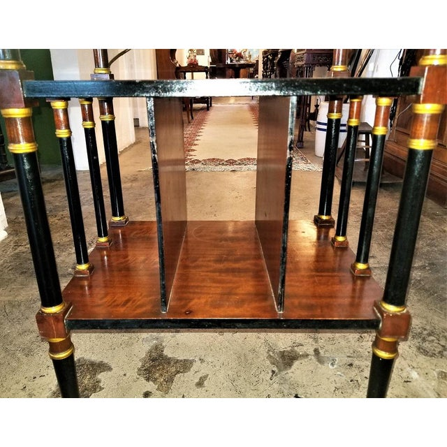 Empire Style Canterbury Side Table For Sale In Dallas - Image 6 of 13