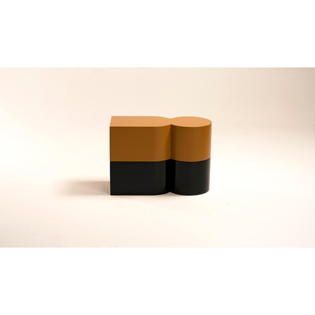 Contemporary Cadoro 2 Piece Table by Jason Mizrahi For Sale - Image 3 of 6