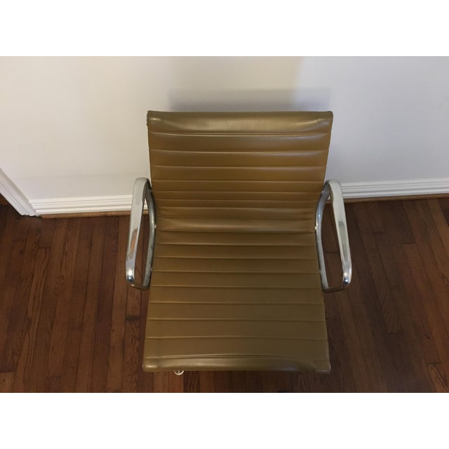 Eames Style Gold Office Chairs - A Pair - Image 5 of 7