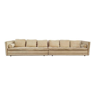 Stunning Two-Piece Harvey Probber Sectional Sofa For Sale