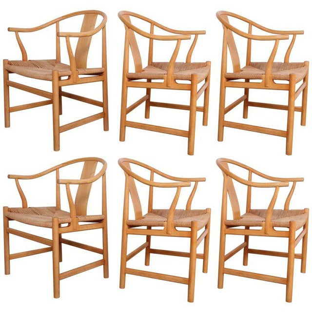 Six Chinese Chairs by Hans Wegner for PP Mobler For Sale - Image 11 of 11