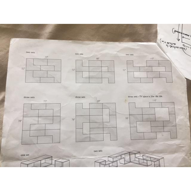 Room & Board Matrix Modular Shelving - A Pair - Image 9 of 10