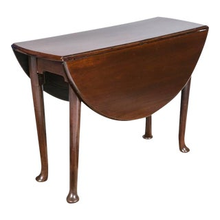 English Mid-Century Drop-Leaf Table For Sale
