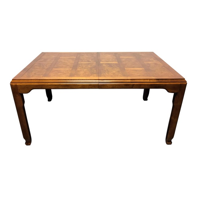 CENTURY Chin Hua by Raymond K Sobota Asian Chinoiserie Dining Table For Sale