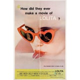 Image of Lolita 1962 U.S. One Sheet Film Poster For Sale