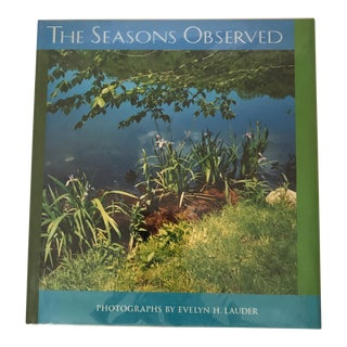 """The Seasons Observed"" 1994 Signed First Edition Book For Sale"