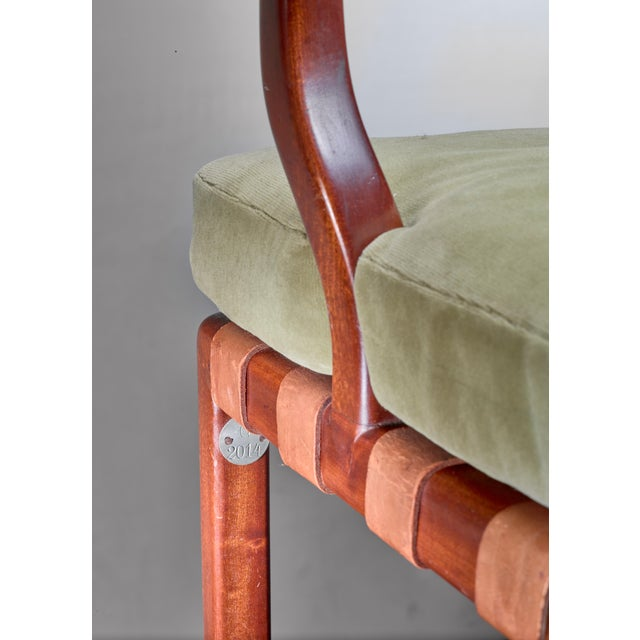 Walter Sobotka Armchair, Austria, Circa 1930 For Sale - Image 9 of 11