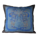 "Image of Hermès Brides De Gala Pillow Cover 17"" For Sale"