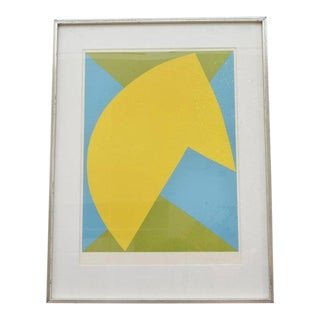 Contemporary Abstract Composition by Richard Mortensen For Sale