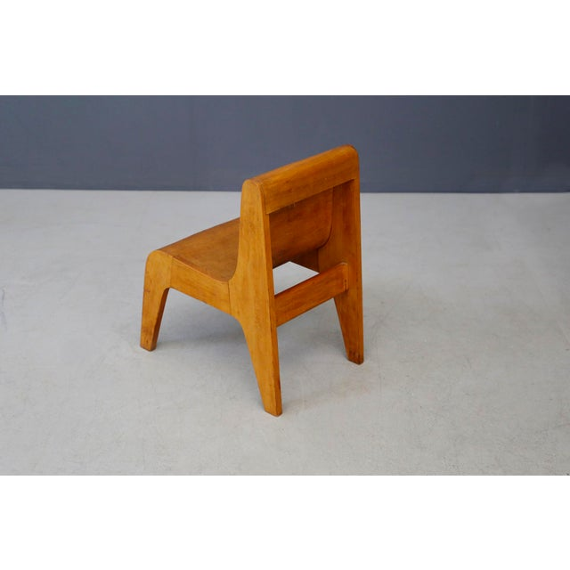Children Italian Chair Prototype by Pierluigi Ghianda, 1960s For Sale - Image 4 of 7