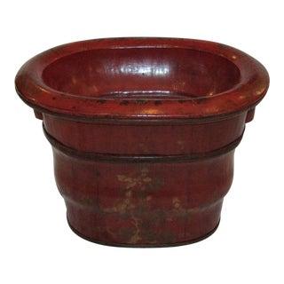 1970s Asian Foot Bath Basin For Sale