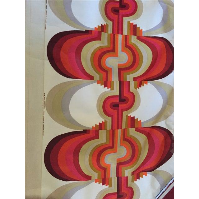 "1971 Mid-Century Knoll Wall Panel, ""Omahar"" - Image 6 of 8"