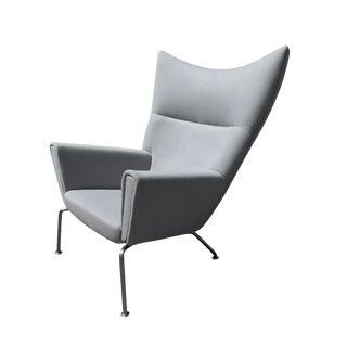 Hans J Wegner Ch445 Wingback Chair For Sale