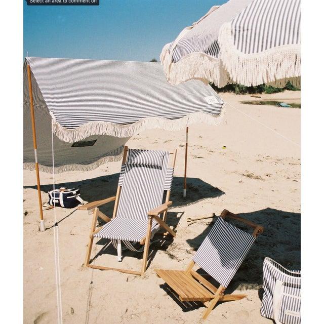 2020s Tommy Outdoor Chair - Lauren's Navy Stripe For Sale - Image 5 of 6