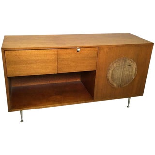 1950s George Nelson for Herman Miller Primavera Stereo Cabinet Console For Sale